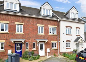 Thumbnail 5 bed town house for sale in Eaton Place, Larkfield, Aylesford, Kent