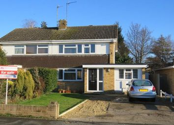 Thumbnail 3 bedroom semi-detached house for sale in Fairfields Crescent, St. Ives, Huntingdon