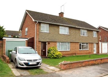 Thumbnail 3 bed semi-detached house for sale in Cosford Close, Lillington, Leamington Spa