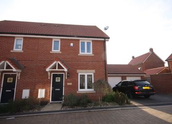 Thumbnail 3 bed semi-detached house for sale in Jay Drive, Old Sarum, Salisbury