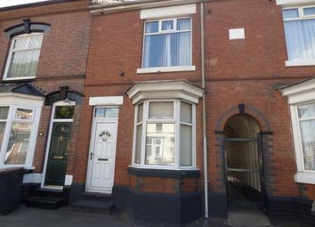 Thumbnail 2 bed terraced house for sale in Manor Court Road, Nuneaton, Warwickshire
