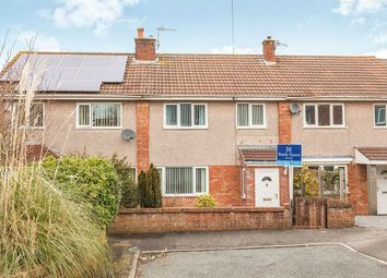 Thumbnail 3 bed terraced house for sale in Crockerne Drive, Pill, Bristol