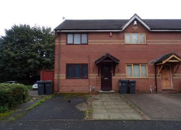 Thumbnail 2 bed end terrace house for sale in Louise Lorne Road, Birmingham, West Midlands