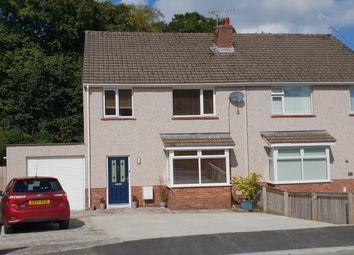 Thumbnail 3 bed semi-detached house for sale in Woodlands Park, Merlins Bridge, Haverfordwest