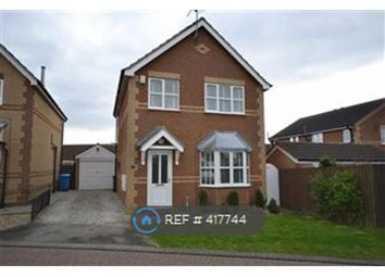 Thumbnail 3 bed detached house to rent in Sleightholme Close, Kingswood, Hull