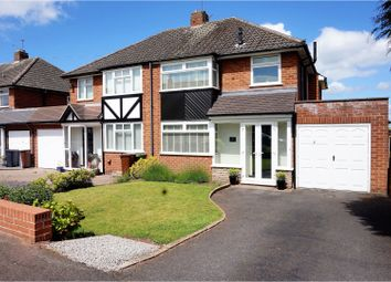 Thumbnail 3 bed detached house for sale in Thirlmere Road, Wolverhampton