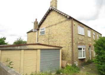 Thumbnail 3 bedroom semi-detached house for sale in St Margarets Road, Fletton, Peterborough