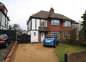 Thumbnail 3 bedroom semi-detached house to rent in West Way, Petts Wood, Orpington, Kent