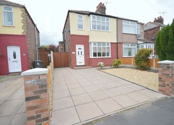 Thumbnail 3 bed semi-detached house to rent in Moorfield Road, Widnes