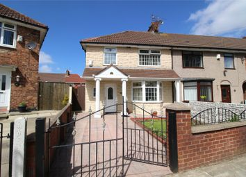 Thumbnail 3 bed end terrace house for sale in Circular Road West, Liverpool, Merseyside