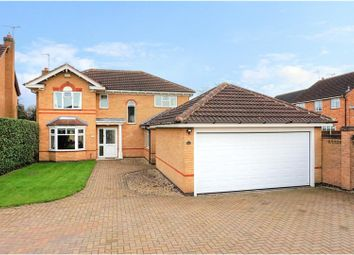 Thumbnail 4 bed detached house for sale in Forest House Lane, Leicester