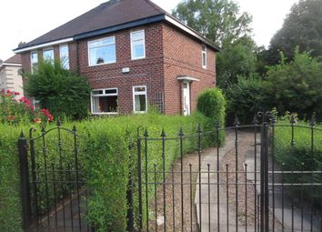 Thumbnail 3 bed end terrace house to rent in Godric Road, Sheffield