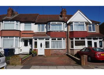 Thumbnail 3 bed terraced house for sale in Bleasdale Avenue, Greenford