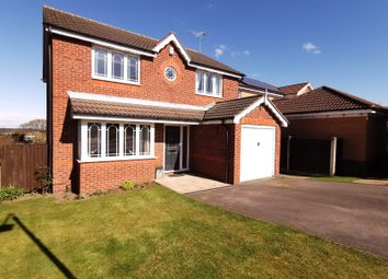Thumbnail 4 bed detached house for sale in Heatherley Drive, Forest Town, Mansfield