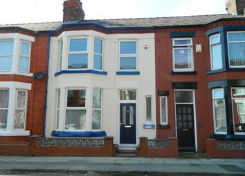 Thumbnail 3 bed terraced house to rent in Kingsdale Road, Mossley Hill, Liverpool