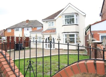 3 bed detached house for sale in Shirley Road, Acocks Green, Birmingham B27