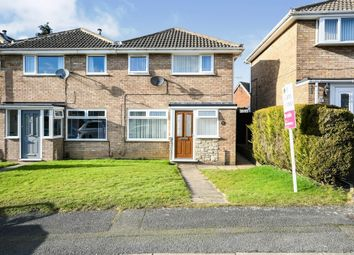 Thumbnail 3 bed end terrace house for sale in Manor Close, Newton, Alfreton