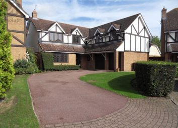Thumbnail 5 bed detached house to rent in Brockwell, Oakley, Bedford