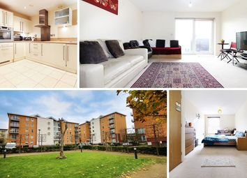 Thumbnail 1 bed flat for sale in Ezel Court, Heol Glan Rheidol, Cardiff
