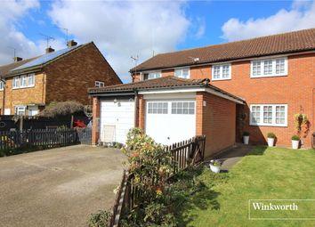Thumbnail 3 bed terraced house for sale in Greenside, Borehamwood, Hertfordshire