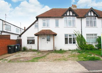 Thumbnail 3 bed semi-detached house for sale in Ellis Road, Tankerton, Whitstable