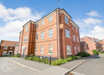 Thumbnail 2 bed flat for sale in Trinity Square, Loddon, Norwich