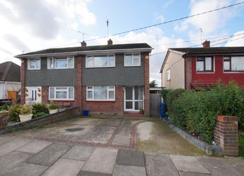 Thumbnail 3 bed semi-detached house to rent in Boundary Road, Leigh-On-Sea