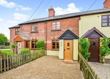 Thumbnail 2 bedroom terraced house for sale in Pentlow, Sudbury, Suffolk