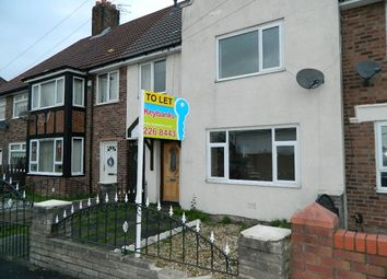 Thumbnail 3 bed terraced house to rent in Lyme Cross Road, Huyton