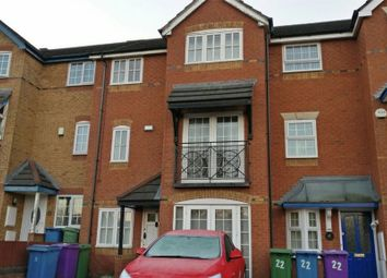 Thumbnail 4 bedroom town house to rent in Lockfields View, Liverpool