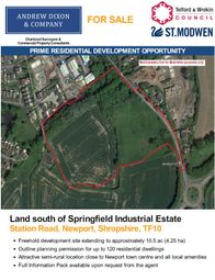 Thumbnail Land for sale in Station Road, Newport