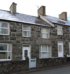 Thumbnail 3 bed terraced house for sale in North Terrace, Criccieth