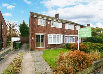 Thumbnail 3 bed semi-detached house to rent in Queensway, Heald Green, Cheadle