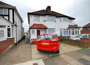 Thumbnail 4 bed semi-detached house to rent in St Michaels Avenue, Wembley, Middlesex