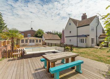 Thumbnail 4 bed detached house for sale in School Lane, Newington, Sittingbourne