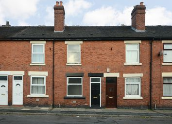 Thumbnail 2 bed terraced house for sale in Oldfield Street, Fenton, Stoke On Trent