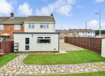Thumbnail 2 bed end terrace house for sale in Yarrow Road, Walderslade, Chatham, Kent