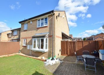 Thumbnail 1 bed end terrace house to rent in Spurcroft, Luton