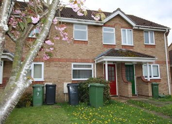 Thumbnail 2 bedroom terraced house for sale in Foxglove Road, Attleborough