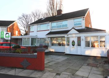 Thumbnail 3 bed semi-detached house for sale in Mount Crescent, Kirkby, Liverpool