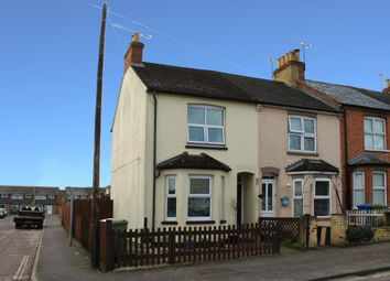 Thumbnail 3 bed end terrace house for sale in Belle Vue Road, Aldershot