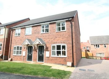 Thumbnail 3 bed semi-detached house for sale in Alms Houses, Church Lane, Middleton, Tamworth