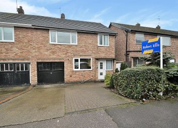 Thumbnail 3 bed semi-detached house for sale in Cleve Avenue, Toton, Beeston, Nottingham