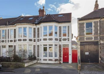 Thumbnail 5 bed end terrace house for sale in Brynland Avenue, Bishopston, Bristol