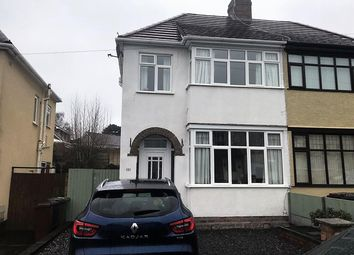 Thumbnail 3 bed semi-detached house for sale in Burland Avenue, Tettenhall, Wolverhampton