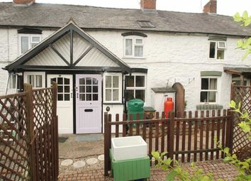 Thumbnail 2 bed cottage for sale in Four Crosses, Llanymynech