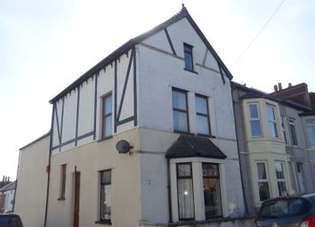Thumbnail 5 bed end terrace house for sale in Rectory Road, Barry