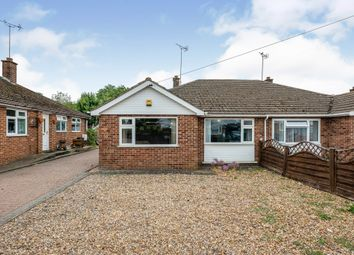 Thumbnail 3 bed semi-detached bungalow for sale in Twyford Avenue, Raunds, Wellingborough