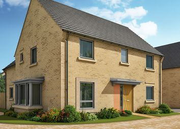 "Thumbnail 4 bedroom detached house for sale in ""The Clarence"" at Crabtree Road, Cambridge"