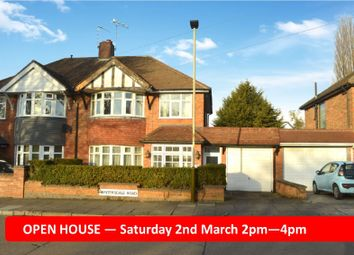 Thumbnail 3 bed semi-detached house for sale in Wintersdale Road, Evington, Leicester